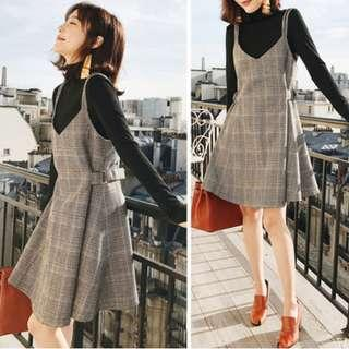 Checkered Outer Dress
