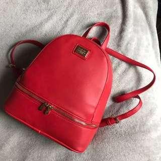 Mini Red Backpack