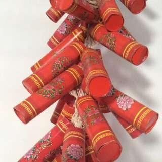 Chinese new year fire crackers- bigger size