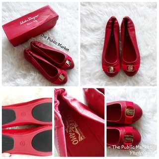 Salvat**re Ferrag*mo Balerina Shoes