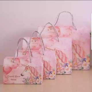 Unicorn Paper Gift Bag