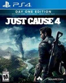 PS4 JUST CAUSE 4 DAY ONE EDITION