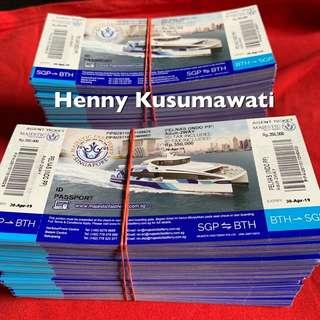 MAJESTIC FAST FERRY $35 FOR INDONESIAN PASSPORT ONLY