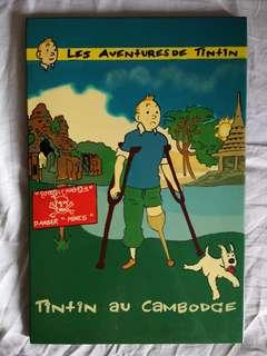 The Adventure of Tintin - Lacquer Wall Art