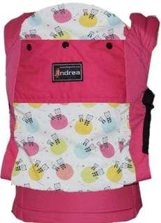 #CLEARANCE [STANDARD] Andrea Baby Carrier - Pink Kittyball ($60)