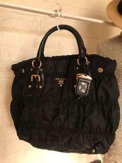 prada 帆布包 側背包 手提包