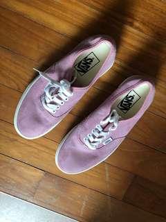 Vans Baby Pink Sneakers