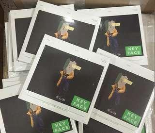 [Preorder]Shinee KEY -FACE + Poster