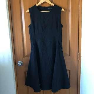 Neoprene Sleeveless Dress