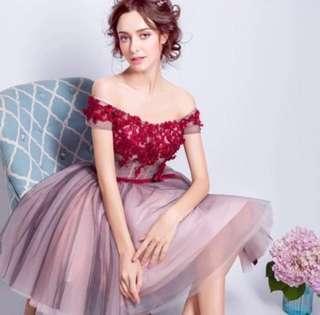 🆓📮Red Wedding Gown #Dec50