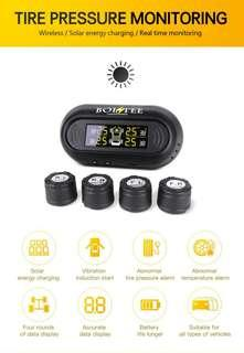 Windscreen Solar Powered Tyre Pressure Monitoring System (TPMS) with SP37 Infineon Sensors, not cheap chinese knock-offs (model: TP-S12E)