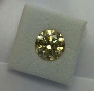 金黄色鑽石,重1.16ct