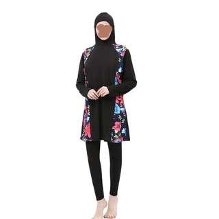 Muslimah Swimwear for women who wear size M to XXL. Inclusive house delivery.