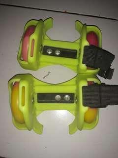 Sepatu roda anak flasing roller (PU whells)