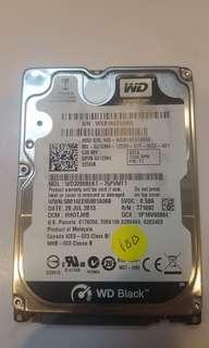 "Lelong Good working WD 320gb 2.5""hdd"