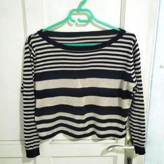 crop sweater knit
