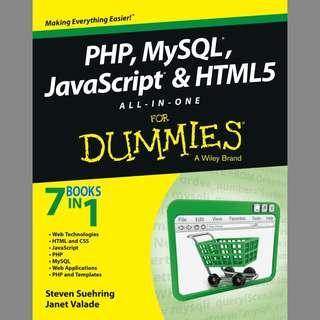 PHP, MySql, JavaScript and HTML5 All-in-One for Dummies