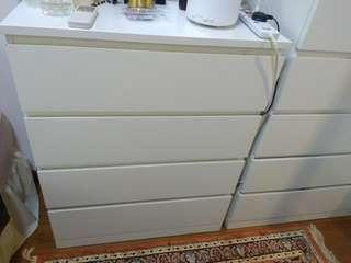MALM CHEST CABINET! GOT TO GO FAST VERY GOOD CONDITION!
