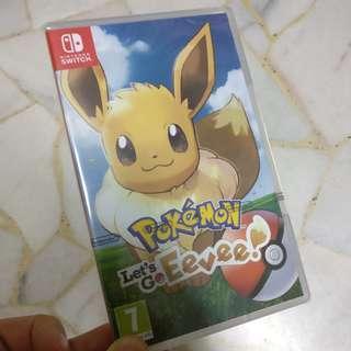 Pokemon Let's Go Eevee edition