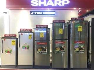 Sharp No Frost Inverter TwoDoor Frenchdoor