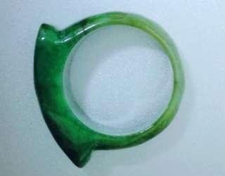 古董玉戒指