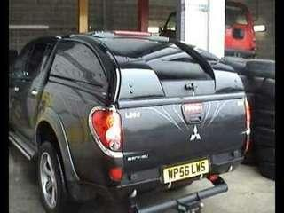 Mitsubishi L200 Carryboy Supersports Truck Top 4x4 Canopy