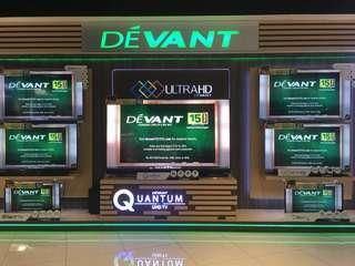 Devant Led Smart UHD 4k Tv