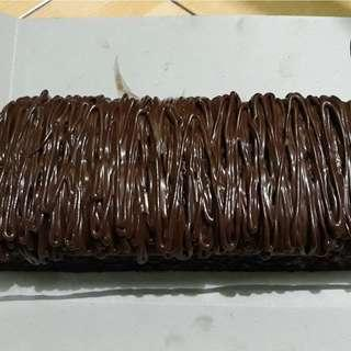 Brownis lumer coklat