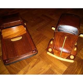 Collectible Teak Cars