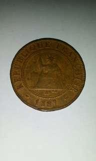 Old coin 1887