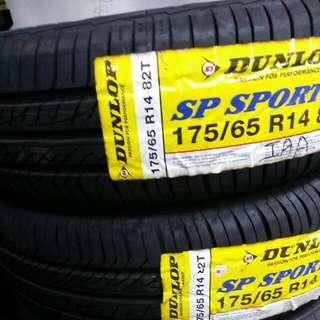 Dunlop 175/65R14 J5 New tyre