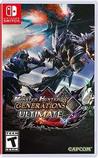 WTS Monster hunter generations ultimate