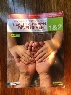 Jacaranda Health and Human Development Units 1 and 2 Textbook