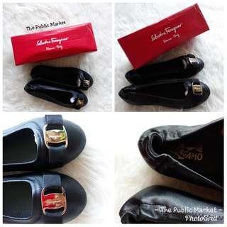 Salva**re Ferr**amo Balerina Shoes
