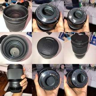 SIGMA ( CANON EF ) 85mm f1.4 ( SIGMA DG FILTER ) 9.7/10