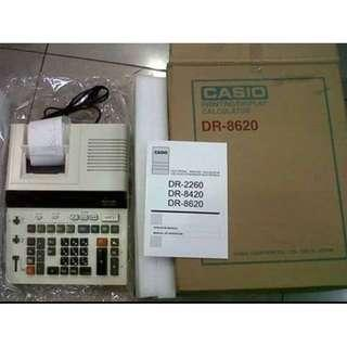 Mesin Kalkulator Telestruk CASIO DR-8620