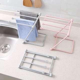 廚房掛杯掛毛巾架