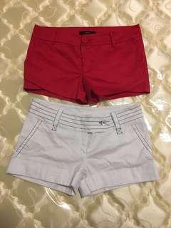 Mid / Low waisted shorts