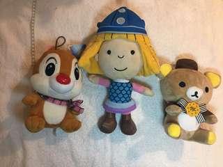 🚚 孩子的娃娃 3個