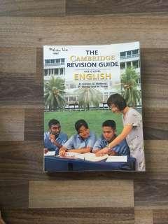 the cambridge revision guide english o'level