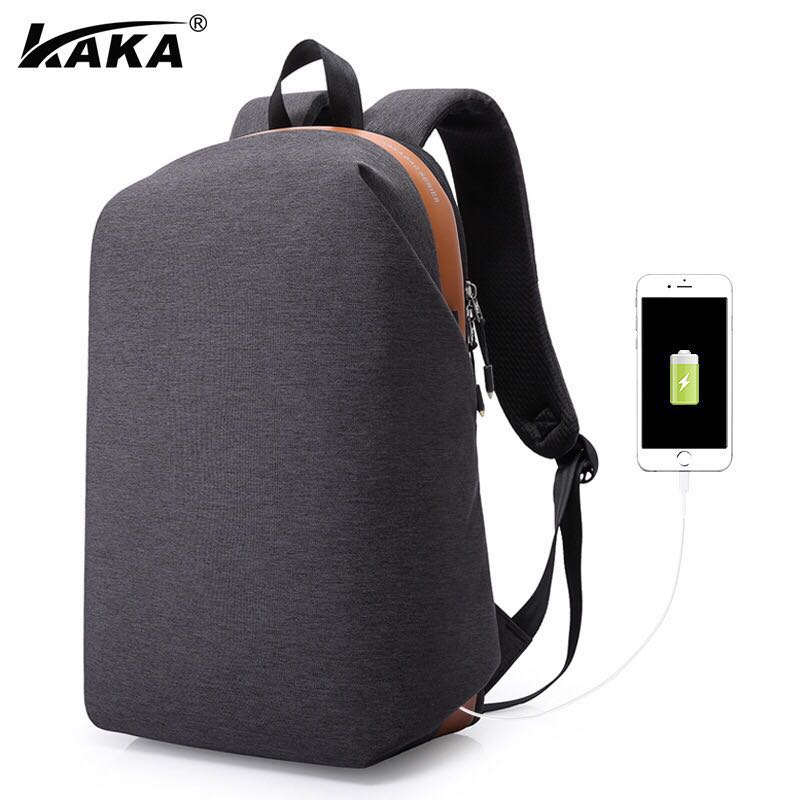 b7c24aab6b 16 Inch Laptop School Bags Male Waterproof Travel Backpack For ...