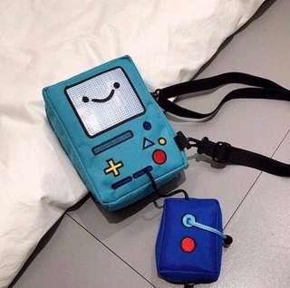(NEW PREORDER) BMO Adventure time sling bag
