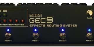 moen GEC9 effects routing