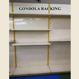 Display rack-Wall Gondola Racking *1 side