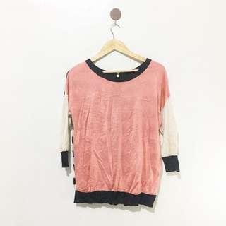 Tricolored Blouse