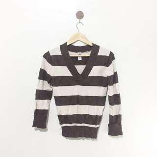 GAP Brown Stripes