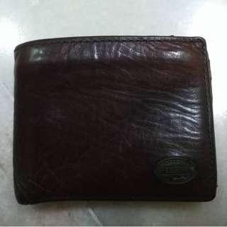(Sold) Vintage Fossil Leather Wallet