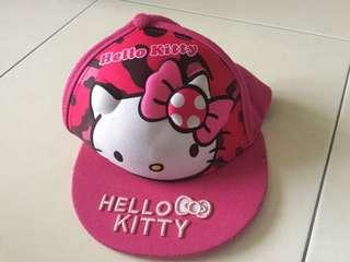 With pos Hello kitty cap