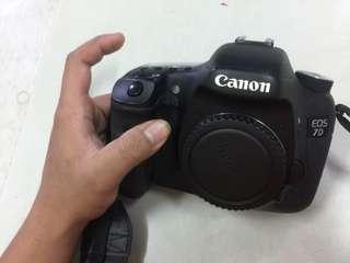 Canon 7D no dos box