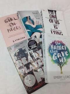 5 English Novels